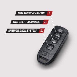 anti theft alarm dan answer back system New Vario 125 Series