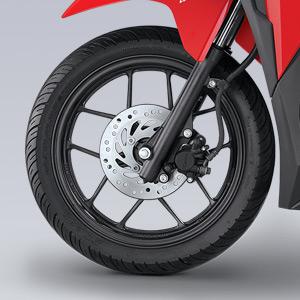 ban velg sporty dengan rem cakram depan New Vario 125 Series