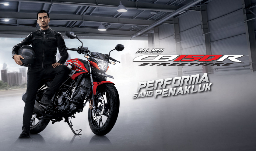banner all new cb150r Home
