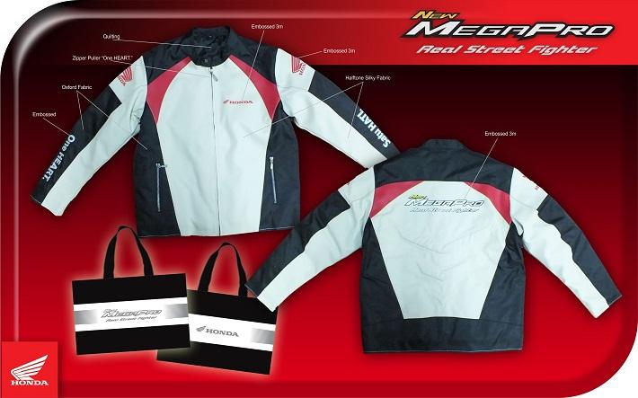 Desain Jaket Mega Pro