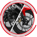 disc break new cb150r 128x128 Fitur New CB150R