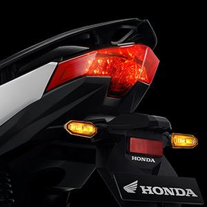 lampu sein dan spakbor bergaya sporty New Vario 125 Series